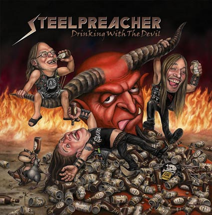 Steelpreacher- Hell Bent For Beer